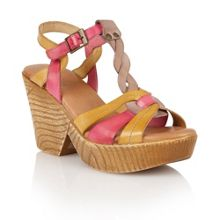 Lotus Burgos wedge sandals