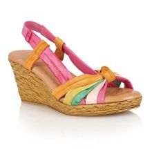 Leslie wedge sandals