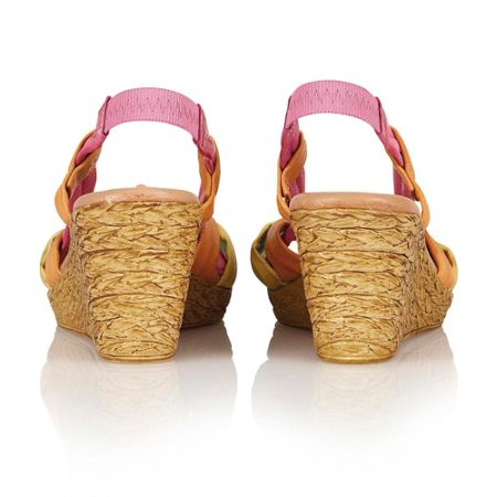 Lotus Leslie wedge sandals