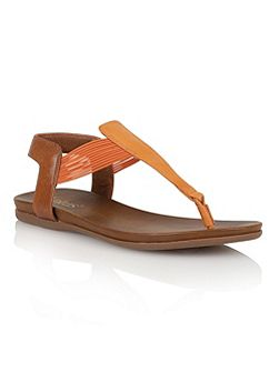 Corfu toe post sandals