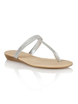 Rhodes toe post sandals