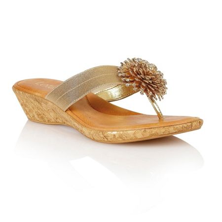 Lotus Althea toe post sandals