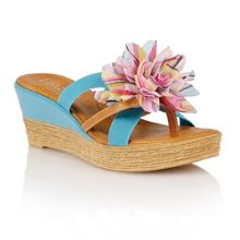 Lotus Catania wedge sandals