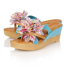 Catania wedge sandals