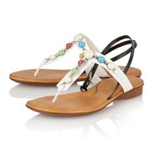 Lotus Clare toe post sandals