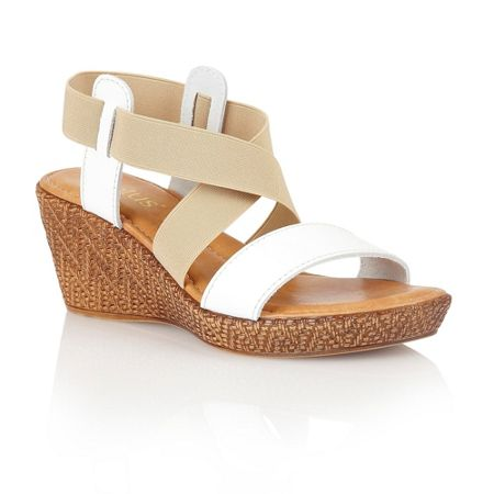 Lotus Emiliano wedge sandals