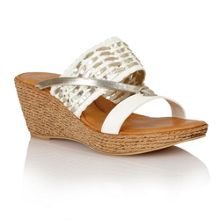Lotus Fabrizia wedge sandals
