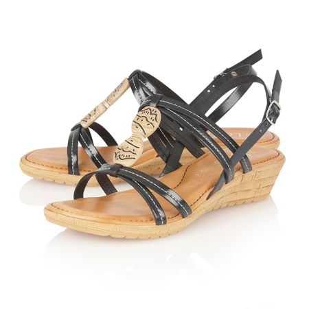 Lotus Leona open toe sandals