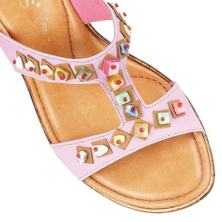 Lotus Loretta wedge sandals