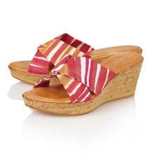 Luisa wedge sandals