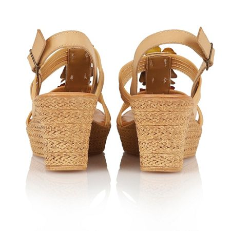 Lotus Selina wedge sandals