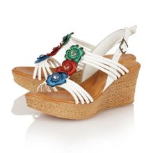 Selina wedge sandals