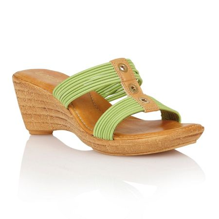 Lotus Verona wedge sandals