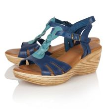 Parmaggiano wedge sandals