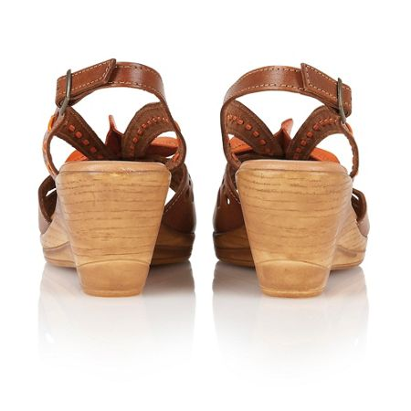 Lotus Treviso wedge sandals