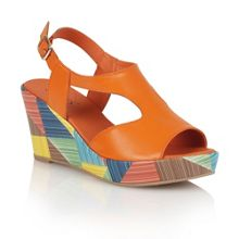 Lotus Dandy wedge sandals