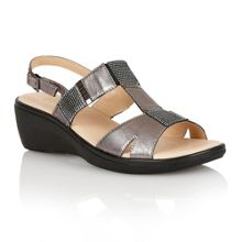 Lotus Jenga open toe sandals