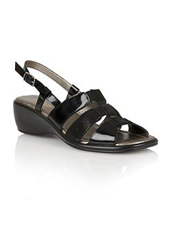 Lantic open toe sandals