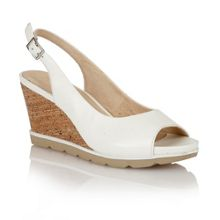 Lotus Maron wedge sandal