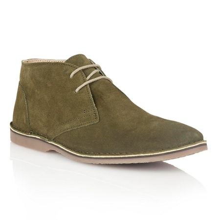 Lotus Wickford Lace Up Casual Desert Boots