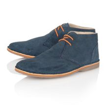 Wickford Lace Up Casual Desert Boots