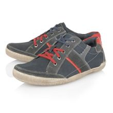 Brixham Lace Up Casual Trainers