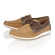 Exmouth Lace Up Casual Boat Shoes