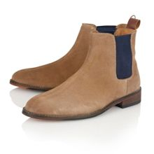 Burton Slip On Casual Chelsea Boots
