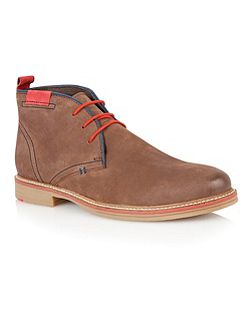 Holbeton Lace Up Casual Desert Boots