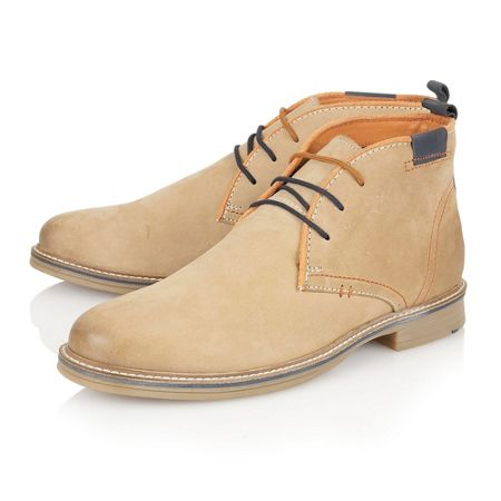 Lotus Holbeton Lace Up Casual Desert Boots