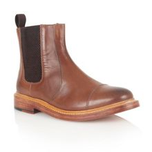 Lexton Slip On Casual Chelsea Boots