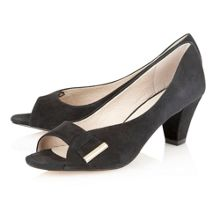 Baroness peep toe shoes