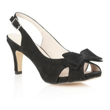 Diana peep toe shoes