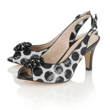 Lotus Fascination peep toe shoes