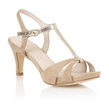 Geraldine open toe shoes