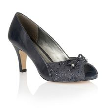 Lotus Nicoletta peep toe shoes