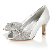 Nicoletta peep toe shoes