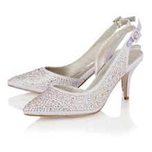 Hope sling back high heel shoes