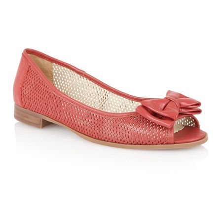 lotus willana peep toe flat shoes house of fraser