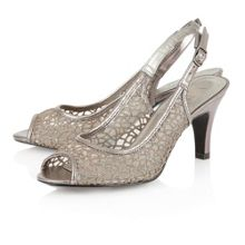 Isabelle peep toe shoes