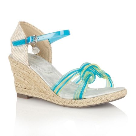 Lotus Sancho wedge sandals