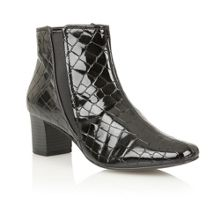 Lotus Damask ankle boots
