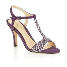 Fenella open toe court shoes