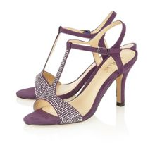 Lotus Fenella open toe court shoes