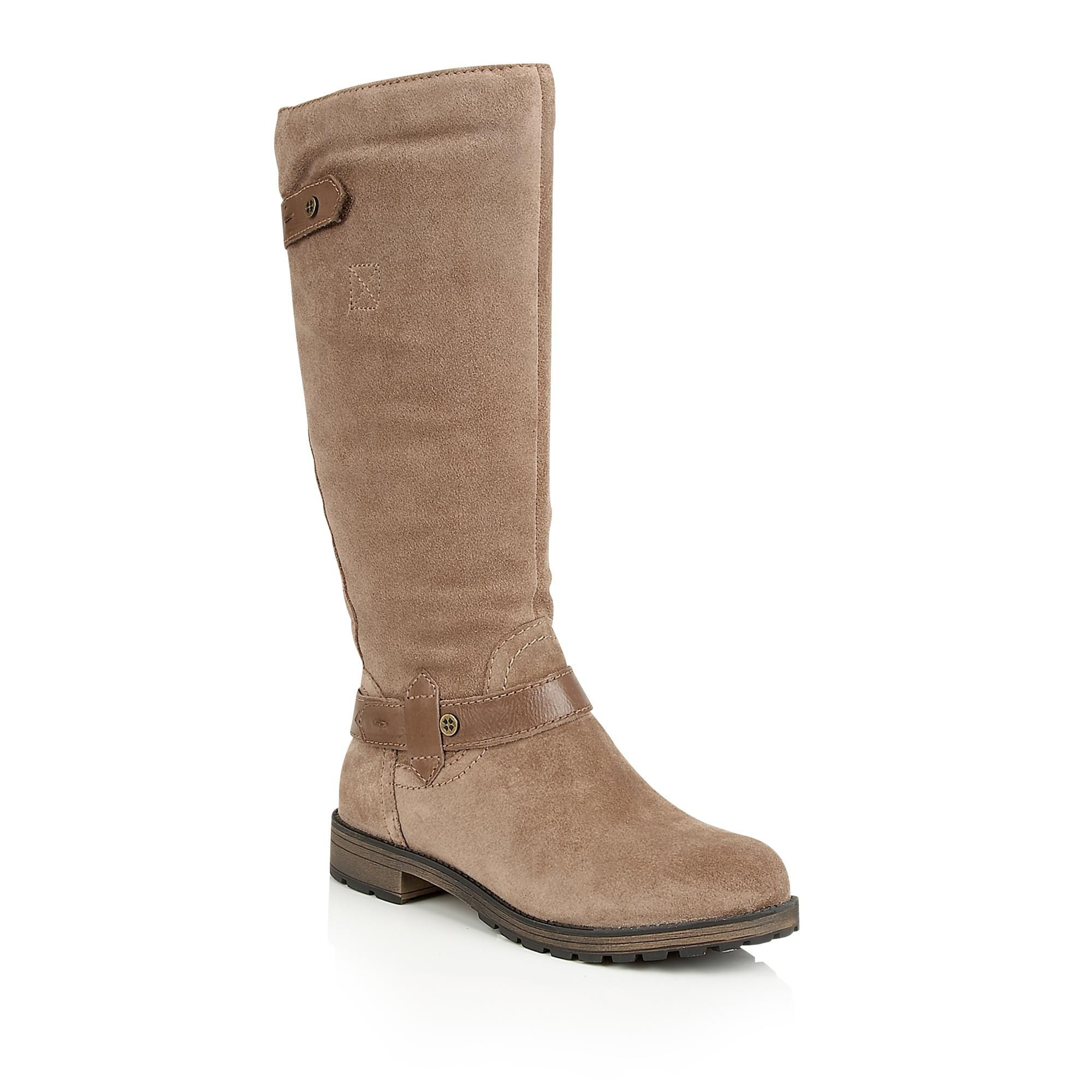 taupe knee high shoes house of fraser
