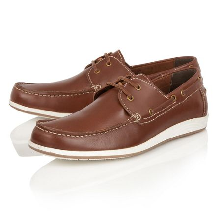 Lotus Exmouth Lace Up Casual Boat Shoes