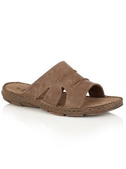 Campbell slip on sandals
