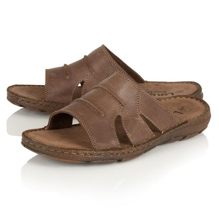 Lotus Campbell slip on sandals