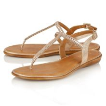 Lotus Reginan toe post sandals