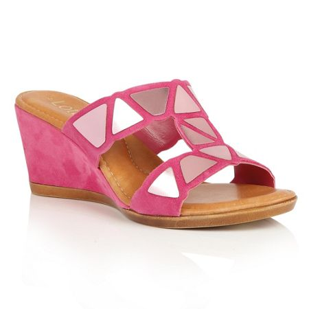 Lotus Briony wedge sandals